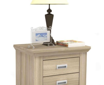 RUSTIC NIGHTSTAND 2 DRW (IDEA) Merk Melody