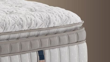 Super pillow top with euro top
