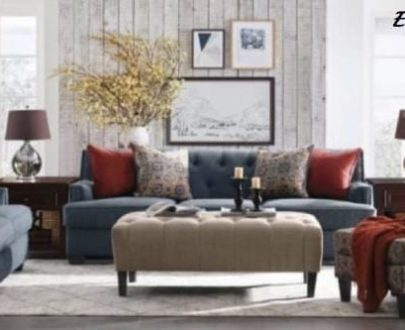 Sofa Elizabeth 321 Arm Chair + Puff