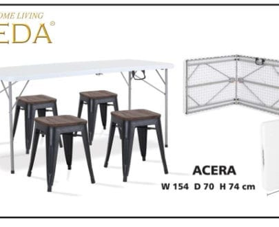 Folding table aveda type acera
